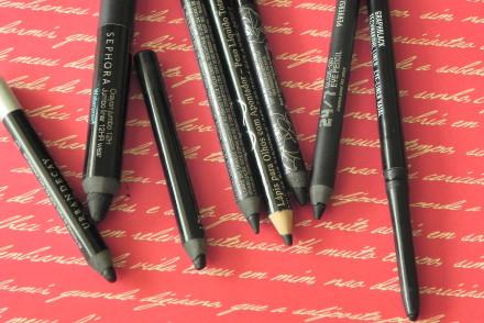 Maquiagem simples só com lápis preto!