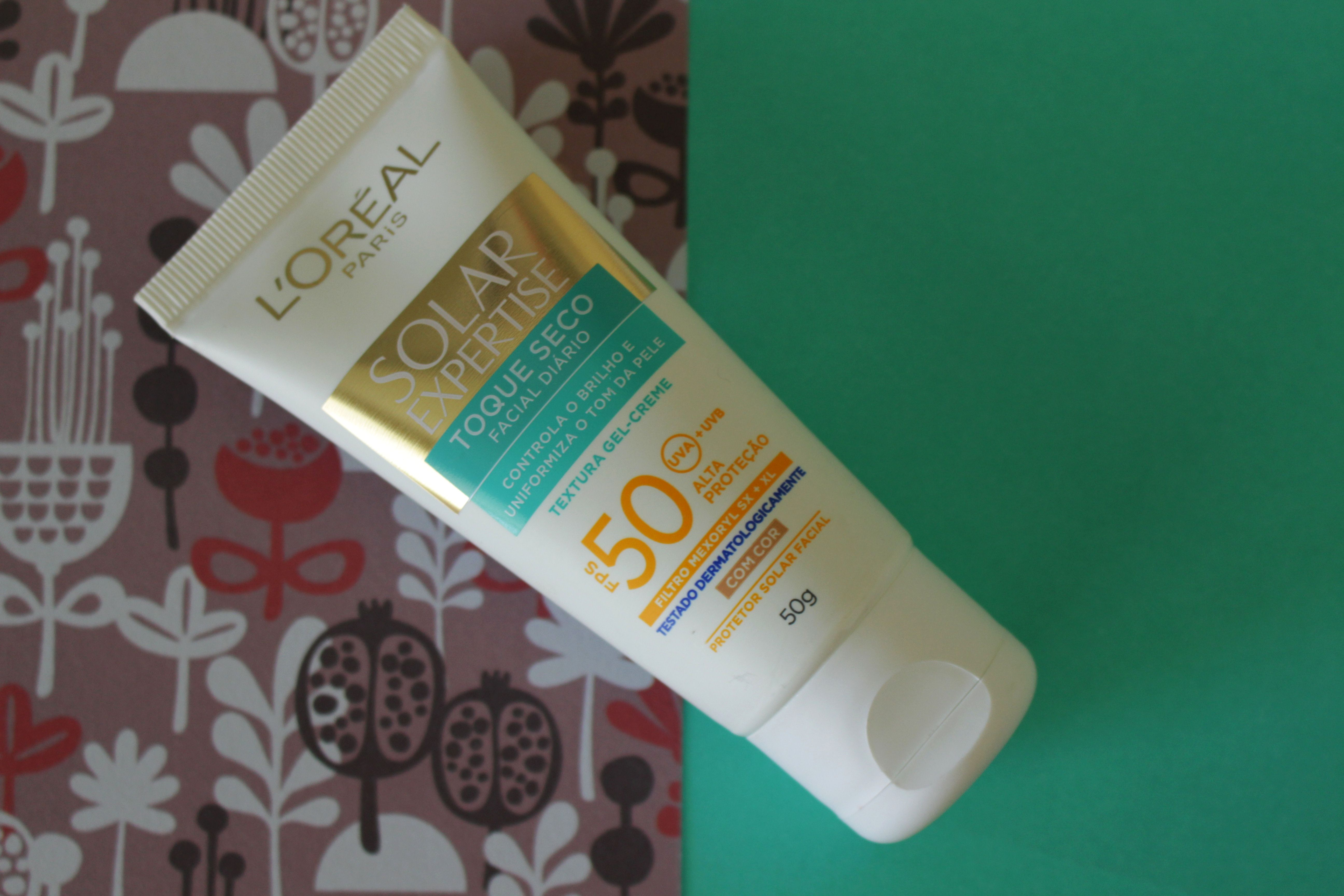 Resenha  Protetor Solar com cor FPS50 Solar Expertise da L oréal  ParisLeticia Almeida – Maquiagem e Beleza 9dedfbb2ef